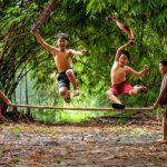 lompat bambu